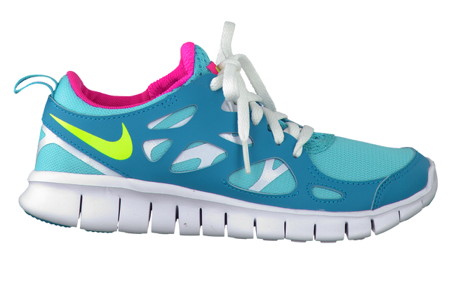 Blaue NIKE Sneaker NIKE FREE RUN 2 - large