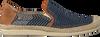 Blaue LA SIESTA Espadrilles 51084  - small