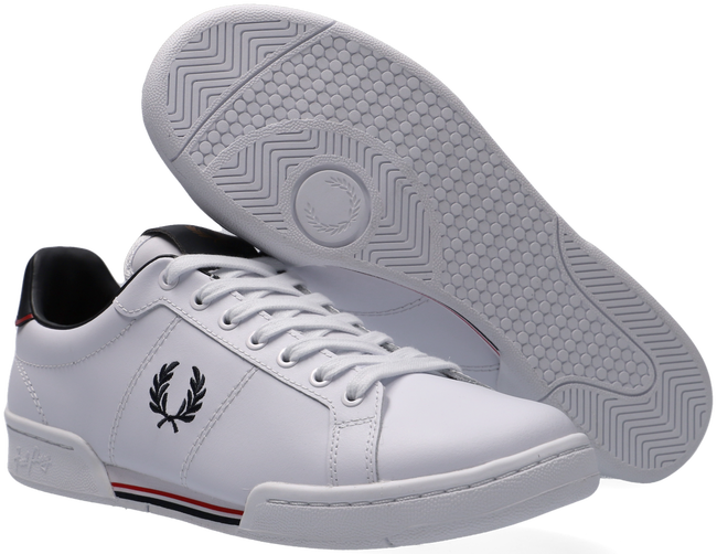 Weiße FRED PERRY Sneaker low B1252  - large