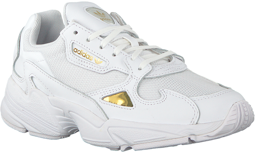 Weiße ADIDAS Sneaker FALCON WMN  - larger