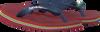 Rote HAVAIANAS Zehentrenner BRASIL LOGO KIDS - small