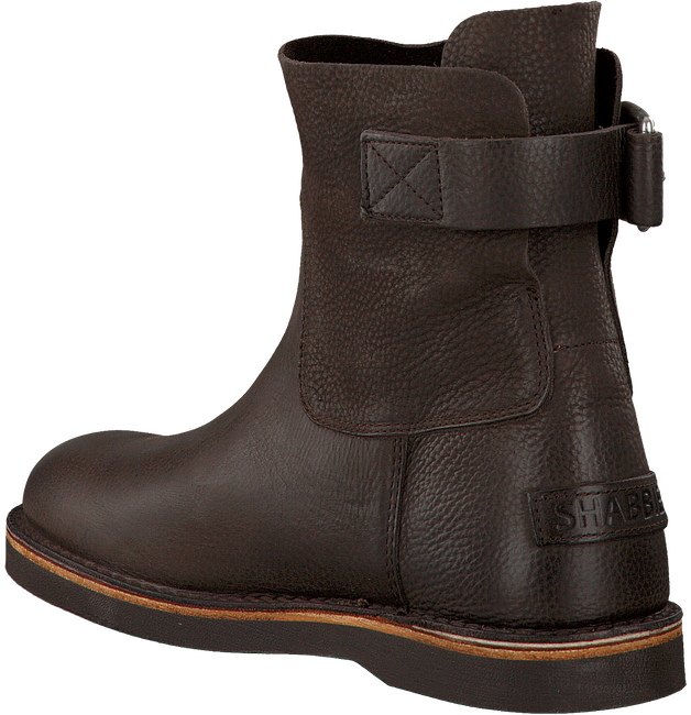 Braune SHABBIES Ankle Boots 181020020 - large