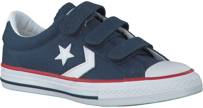 Blaue CONVERSE Sneaker STAR PLAYER 3V OX KIDS - large