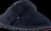 Blaue WARMBAT Hausschuhe FLURRY WOMEN SUEDE - small