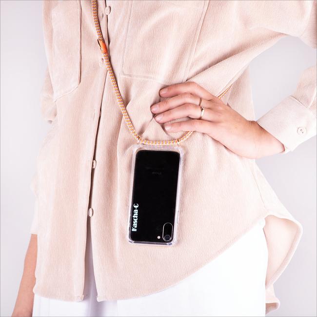Gelbe KASCHA-C Handy-Schutzhülle PHONECORD IPHONE XR  - large
