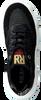 Schwarze RED-RAG Sneaker low 13044  - small