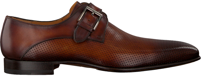 Cognacfarbene MAGNANNI Business Schuhe 22033  - large