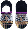 Mehrfarbige/Bunte XPOOOS Socken SOLANGE INVISIBLE  - small