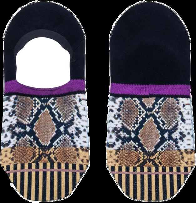 Mehrfarbige/Bunte XPOOOS Socken SOLANGE INVISIBLE  - large