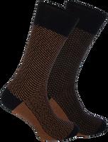 Schwarze MARCMARCS Socken HERBERT COTTON 2-PACK  - medium