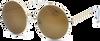 Braune IKKI Sonnenbrille DUFOUR - small