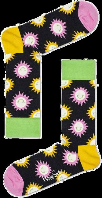 Mehrfarbige/Bunte HAPPY SOCKS Socken SUNNY SMILE  - large