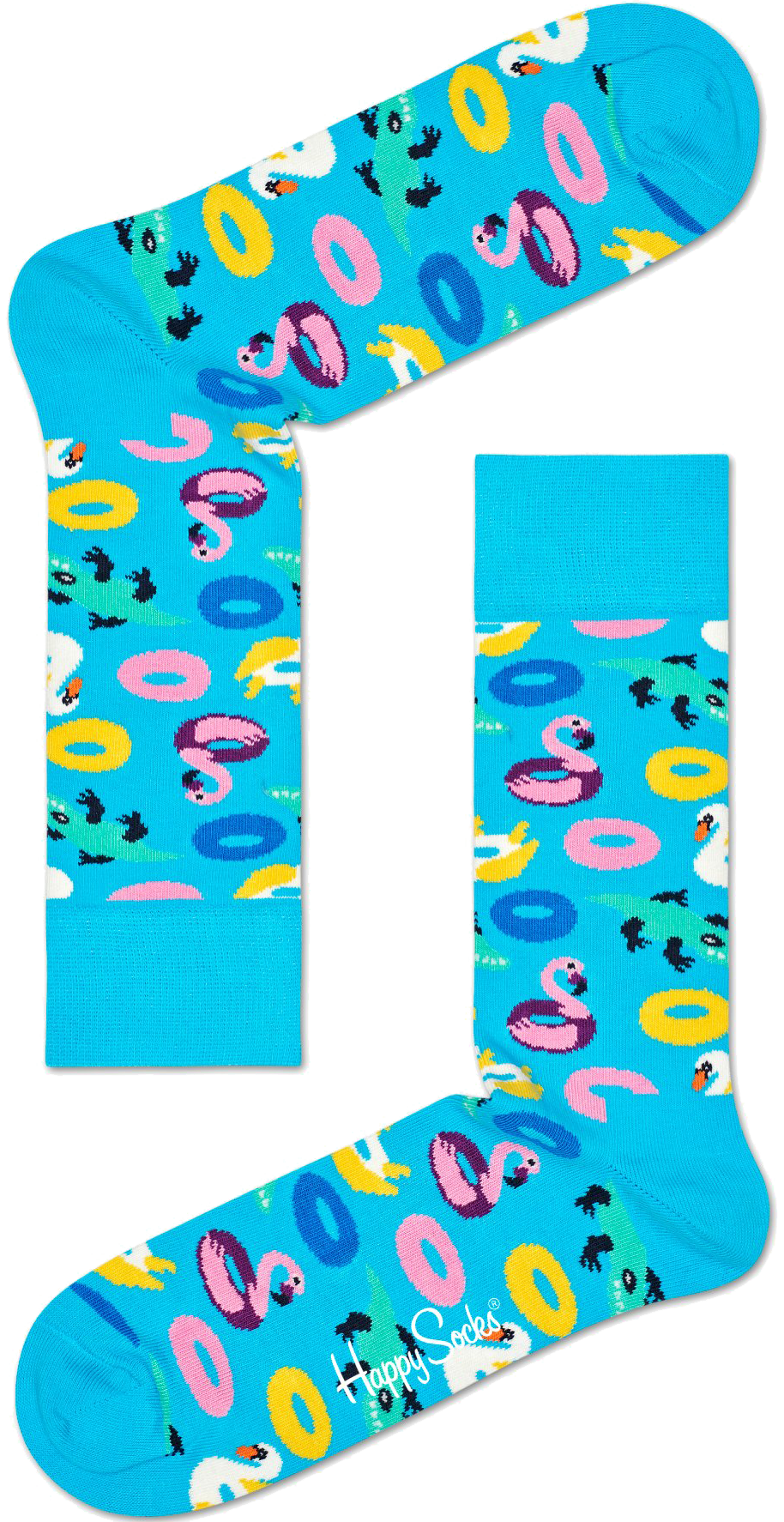 Blaue HAPPY SOCKS Socken POOL PARTY 0TXyO