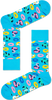 Blaue HAPPY SOCKS Socken POOL PARTY - small