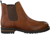 Cognacfarbene MCGREGOR Chelsea Boots CRESTONE - small