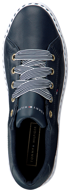 Blaue TOMMY HILFIGER Sneaker low NAUTICAL LACE UP  - large