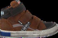 Cognacfarbene DEVELAB Sneaker high 41785  - medium