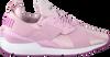 Weiße PUMA Sneaker MUSE SATIN II - small