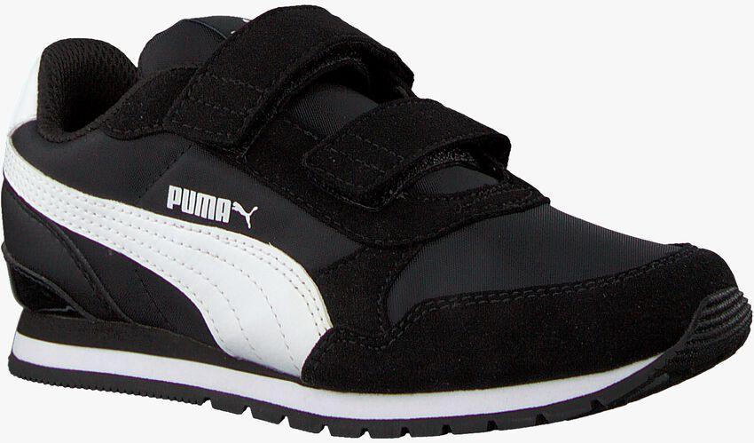 Schwarze PUMA Sneaker ST.RUNNER JR - larger