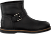 Schwarze SHABBIES Ankle Boots 181020086 - small