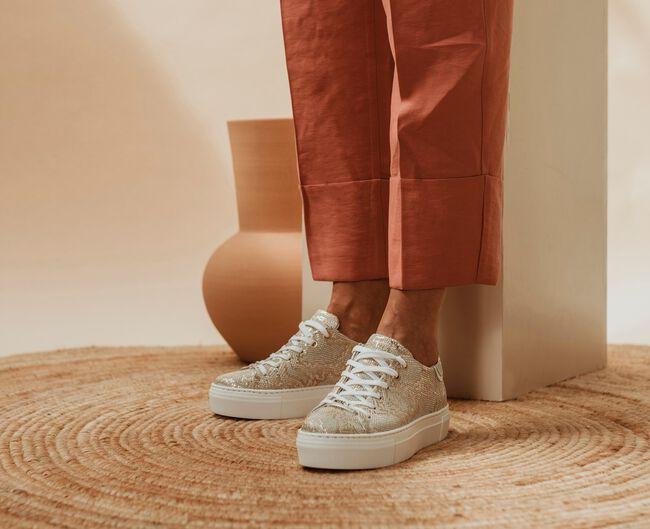Goldfarbene NOTRE-V Sneaker low J4850E-OMD52  - large
