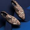 Braune MASCOLORI Business Schuhe MIDNIGHT RENAISANCE - small