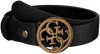 Schwarze GUESS Gürtel HERITAGE POP ADJUSTABLE BELT  - small