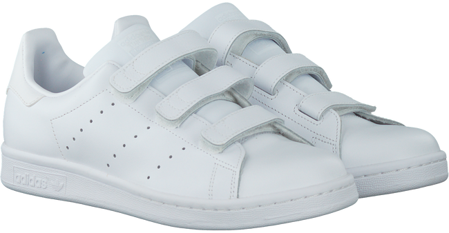 Weiße ADIDAS Sneaker STAN SMITH KIDS - large
