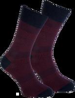 Rote MARCMARCS Socken RED NEW YORK - medium