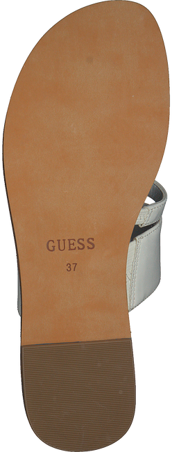 Weiße GUESS Pantolette GENERA  - large
