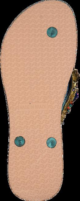 Braune UZURII Pantolette COLORFUL STAR - large