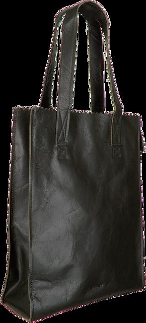 Grüne MYOMY Handtasche MY PAPER BAG LONG HANDLE ZIP  - large