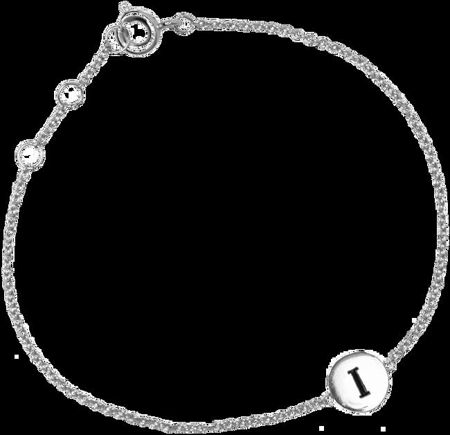 Silberne ALLTHELUCKINTHEWORLD Armband CHARACTER BRACELET LETTER SILV - large