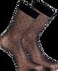 Schwarze MARCMARCS Socken LITTLE DOTS  - small
