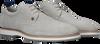 Graue REHAB Business Schuhe POZATO STRIPES 121A  - small