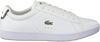 Weiße LACOSTE Sneaker CARNABY EVO DAMES  - small