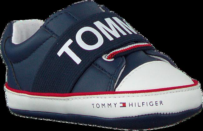 Blaue TOMMY HILFIGER Babyschuhe LACE-UP SHOE  - large
