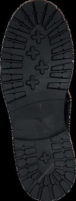 Schwarze HIP Schnürschuhe H1686  - large