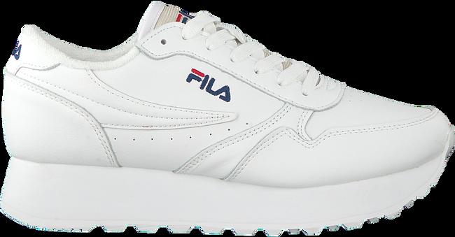 white FILA shoe ORBIT ZEPPA L WMN  - large