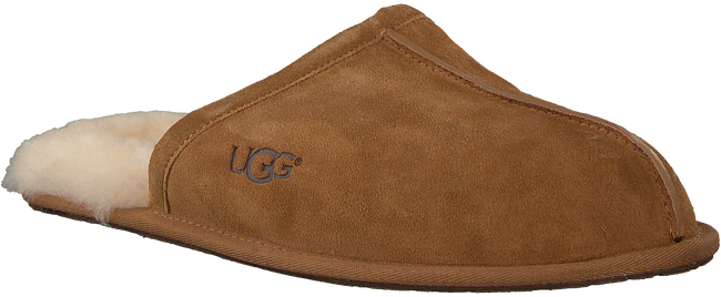 Braune UGG Hausschuhe SCUFF - large