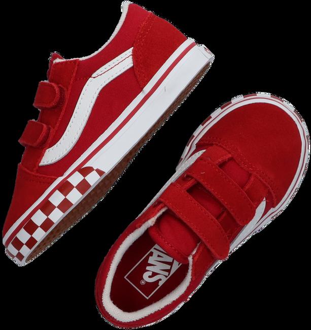 Rote VANS Sneaker low TD OLD SKOOL V  - large