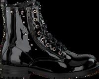 Schwarze HIP Schnürschuhe H1167  - medium