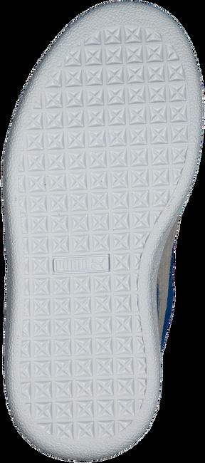 Blaue PUMA Sneaker SUEDE 2 STRAPS - large
