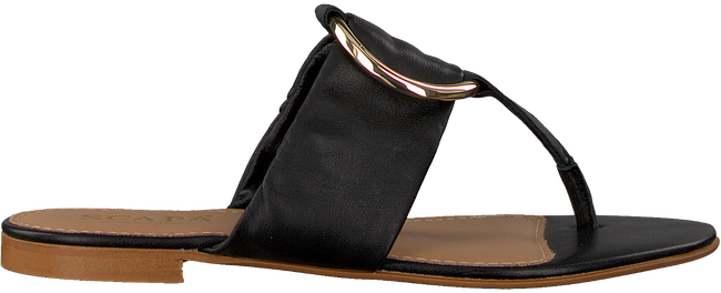 Schwarze SCAPA Pantolette 21/17158  - large