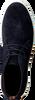Blaue MAZZELTOV Schnürschuhe 51130  - small