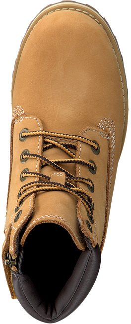 Camelfarbene TIMBERLAND Schnürboots COURMA KID TRADITIONAL 6 INCH  - large