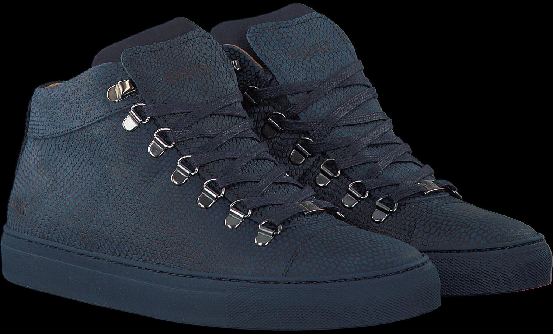 blaue nubikk sneaker jhay mid schuhmode online. Black Bedroom Furniture Sets. Home Design Ideas