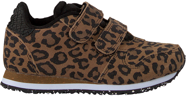 Braune WODEN Sneaker low YDUN ANIMAL SUEDE  - large