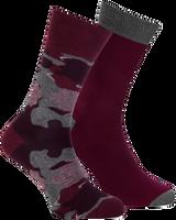 Rote MARCMARCS Socken MM DOMINIC COTTON 2-PACK - medium