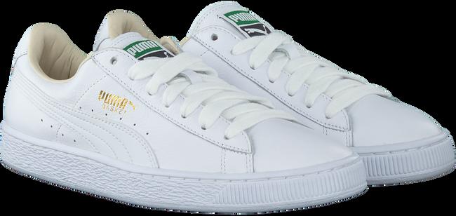 Weiße PUMA Sneaker BASKET CLASSIC MEN - large